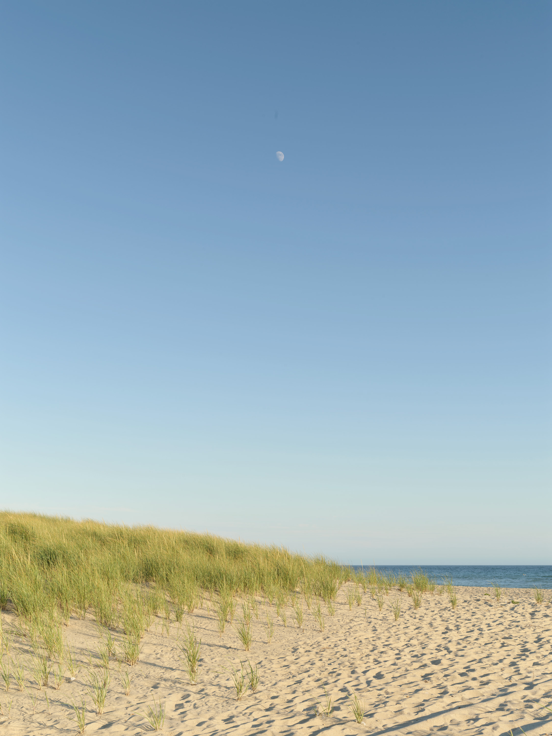 Setting Moon #5532 | Nantucket | Michael Gaillard