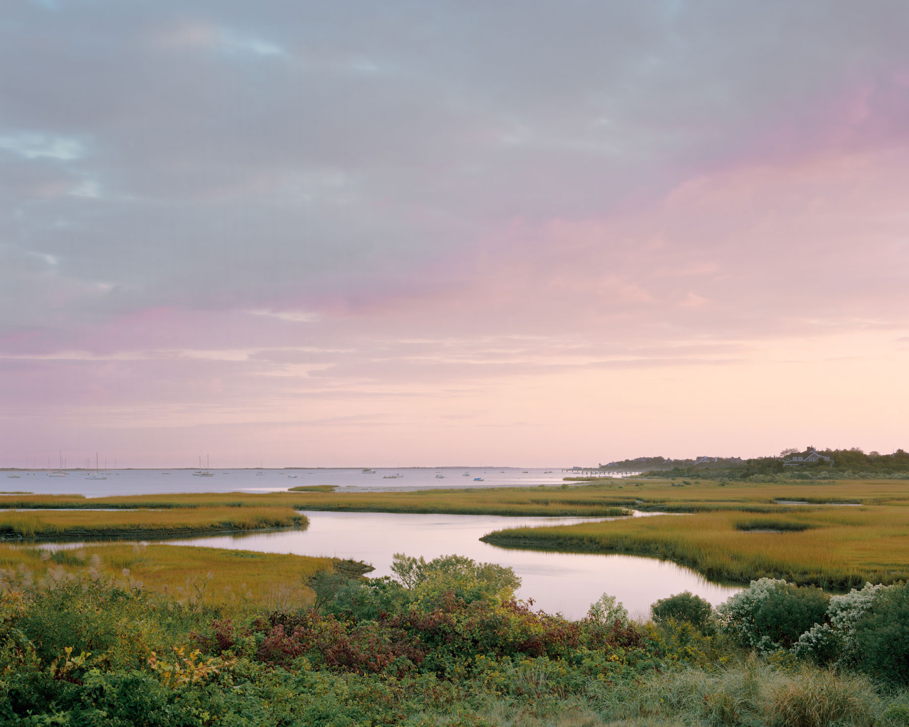 Dawn in the Creeks | Nantucket  |  Michael Gaillard