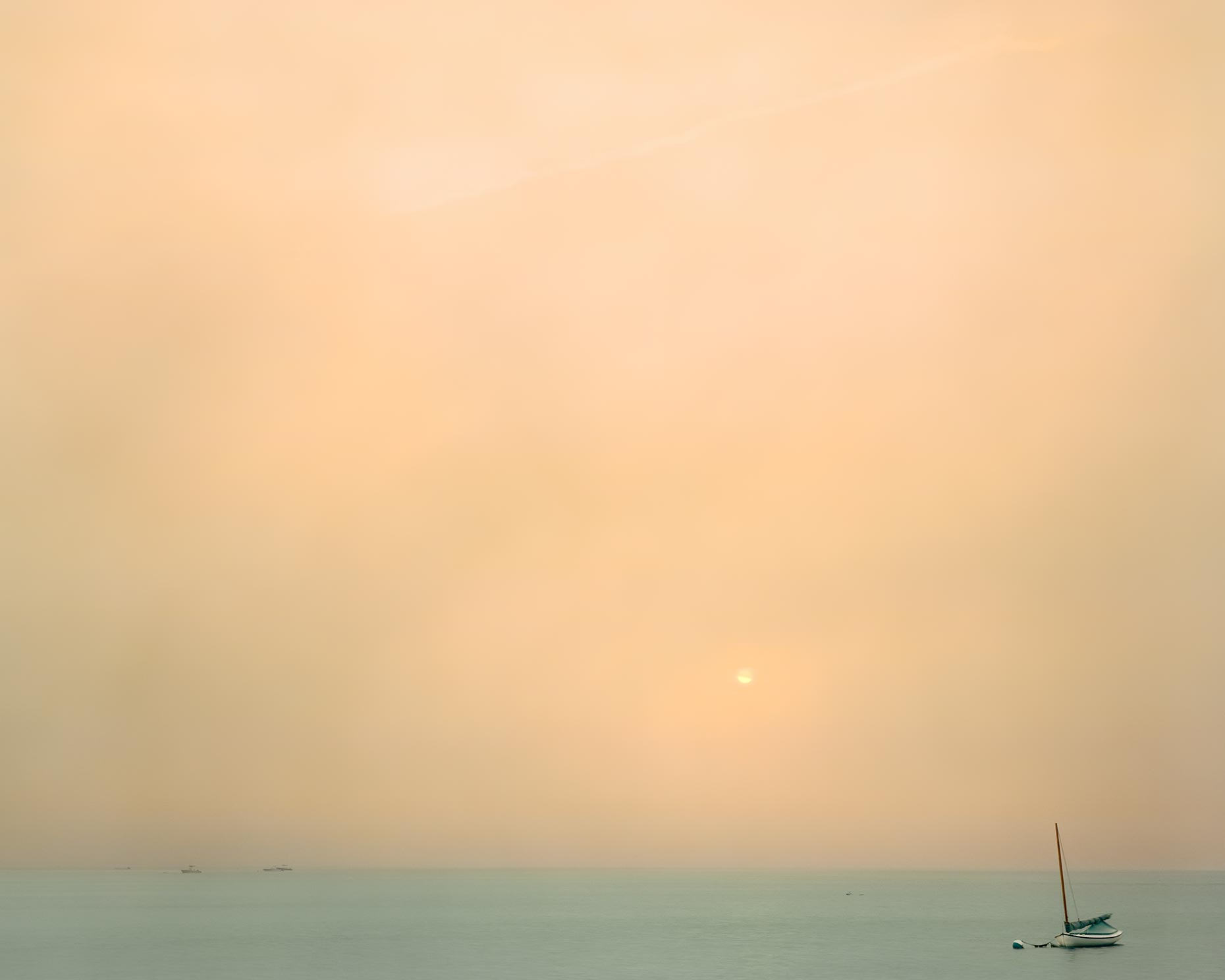 Michael Gaillard  |  Fine Art Photography  |  Foggy Boat