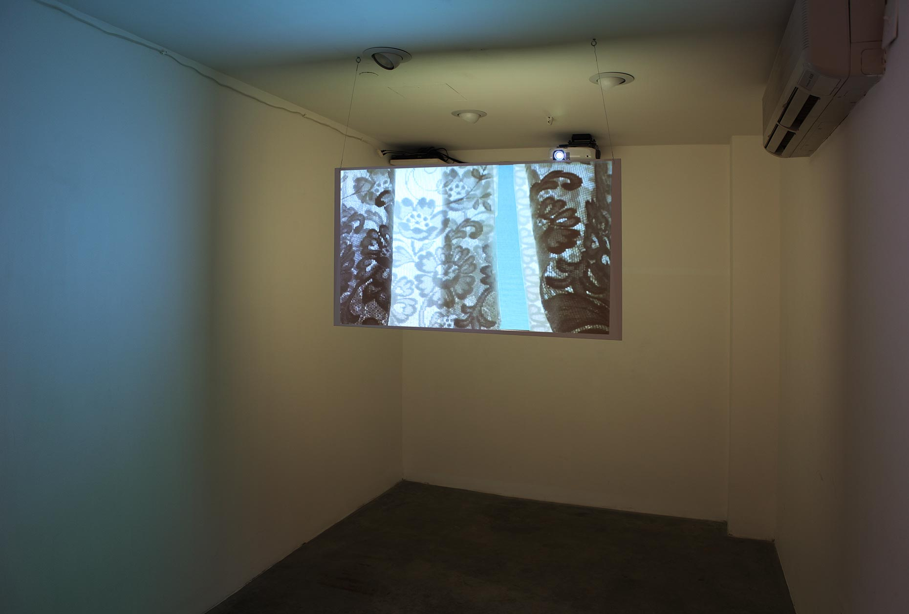 Michael Gaillard  |  Studio Work  |  Screen, Install 1